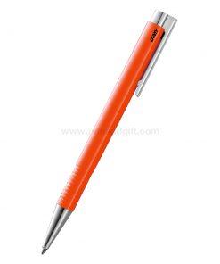 สินค้าพรีเมียม-ปากกาพรีเมี่ยม-LAMY LOGO M+ Ballpoint Pen Laser Orange Special Edition 2018