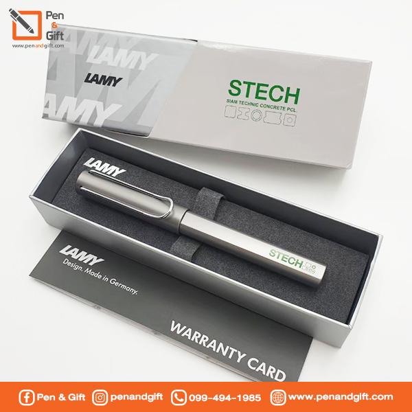 ตัวอย่างงานพรีเมี่ยม-ปากกา lamy สลักชื่อ