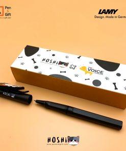 P&G-Web-Hoshi+Mascot-the voive box-สกรีนปอก-สีดำ
